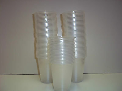 Clear plastic water  cups 7oz for Water Coolers / Vending Disposables Select Qty