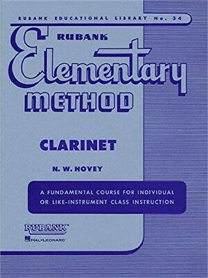 Rubank Elementary Method Clarinet (Rubank Educational Library)