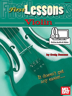 First Lessons Violin  Book/CD Set
