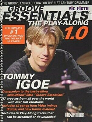 Groove Essentials - The Play-Along, Bk/CD Pack