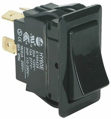 POWER FIRST 2VLR2 Rocker Switch,DPST,4 Connections