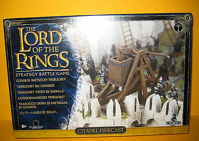 ▲ Lord Of The Rings Gondor Battlecry Trebuchet - Trabocco - New  Games Workshop