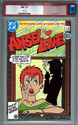Angel Love #1 Cgc 9.6 White Pages Copper Age