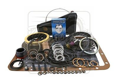 Ford E4OD E40D Transmission Deluxe Rebuild Kit 89-95 Level 2 + Transgo Fix More