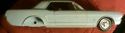 1965 Ford Mustang Dealer Promo model car Light Blue