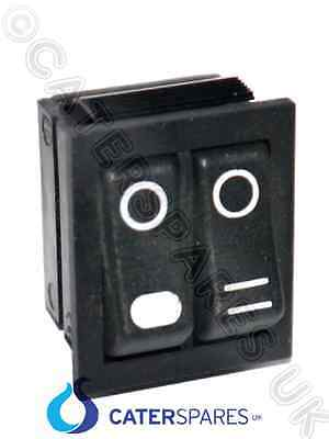 00037 Genuine Dualit Combi Toaster Double Twin Selector Switch 230V Black Rocker