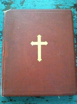 Rare Antique Book Seven Great Hymns Of Medieval Church 1868 Beautiful Cover