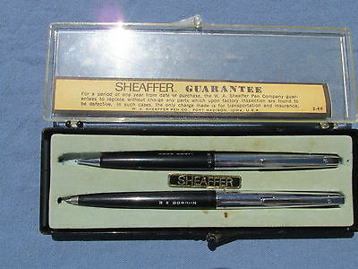 1960s Sheaffer Ballpoint PEN and PENCIL Set in Original Box