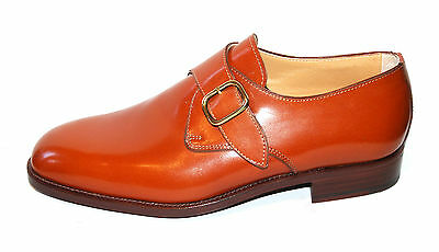 Man Buckle Derby - Calf 4000 Tan - Leather Sole + Blake Construction