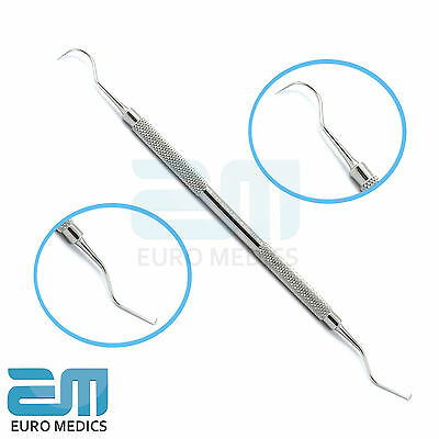 Endodontic Probe Explorer No.23/17A, Double Ended Dental Instruments, ST.S, CE