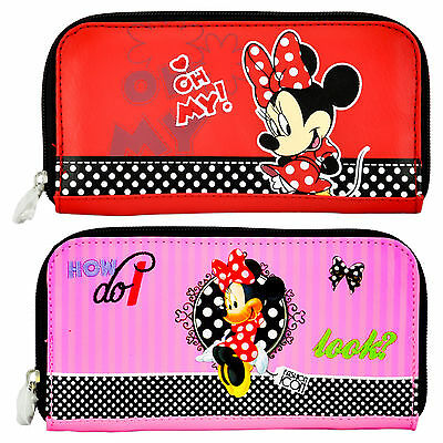 Ladies/girls Minnie Mouse Purse/wallet 100% Official Merchandise Brand New