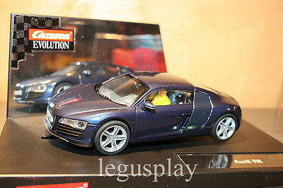 Slot SCX Scalextric Carrera 27241 Evolution Audi R8 - New