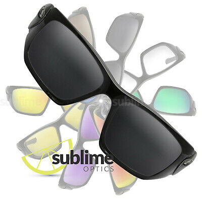 POLARIZED Black (Dark Grey) Replacement Lenses For Oakley Scalpel ~ charcoal