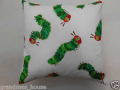Very Hungry Caterpillar Cushion Cover - 40cm x 40cm - Perfect Gift!!