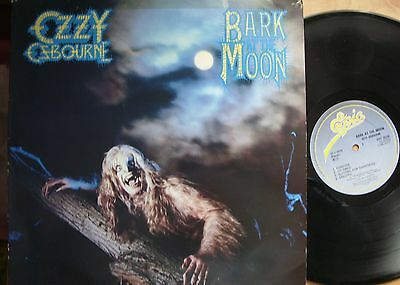 Ozzy Ozbourne Bark at the Moon  Vinyl LP Epic Label 25739