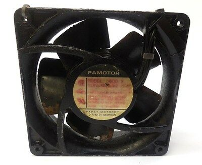 Papst Axial Ac Fan 4600X, 115V, 50/60 Hz, 20W, Made In Germany