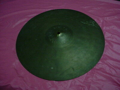 "NICE ! Vintage  Japan  16""  Crash Cymbal Works With Ludwig 2  Lbs. No Res #10"