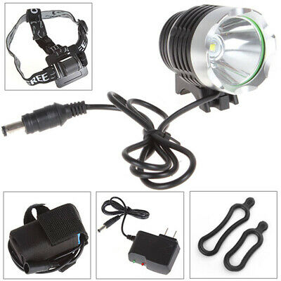 5000LM CREE XM-L T6 LED Bike Bicycle Light Headlamp Head Torch +Battery+Charger