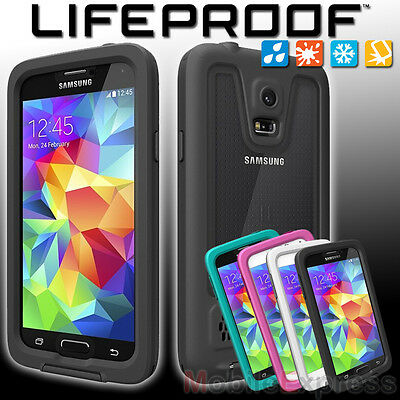 GENUINE Lifeproof Fre Shock Proof - Waterproof Case Cover for Samsung Galaxy S5