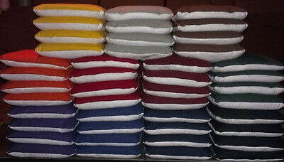 8 pro resin all weather stop & go slick n stick cornhole bags duck/suede