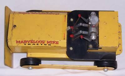 Vintage 50's Saunders MARVELOUS MIKE TRACTOR Battery Operated Toy NICE!