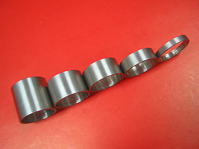 """Mosso Titanium Spacer 1-1/8"""", 20mm 30mm headset spacers 20g"""