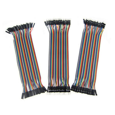 120pcs 20cm 2.54mm 1pin Jumper Wire Dupont Cable for Arduino