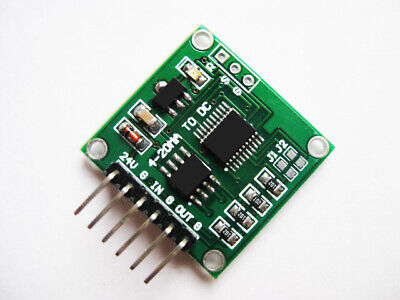 New Mini Current to Voltage Transmitter Module 4-20mA to 0-5V Sensor