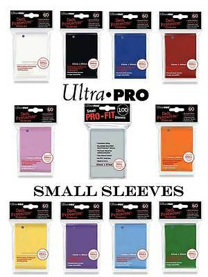 ULTRA PRO 60 Card Sleeves SMALL Matte Standart (62x89mm) YuGiOh NEU Hüllen MINI