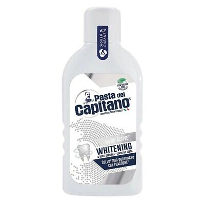 PASTA DEL CAPITANO ox-active whitening - collutorio sbiancante 400ml
