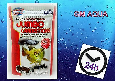 Hikari Jumbo Carnisticks 182 g for Larger Arowana&Top Feeding Monster Carnivors