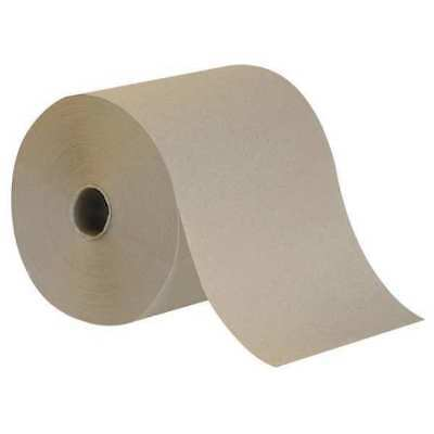 "Brown High Capacity Paper Towels, 7-7/8""W x 800'L, 6 Rolls TOUGH GUY 38X645"