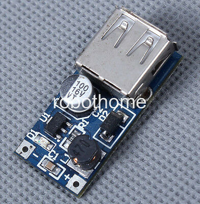 DC-DC Converter Step Up Module 0.9-5V to 5V 600mA USB Charger for Arduino new