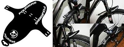 FOURIERS MTB Front Mud Guards Mudguard Fenders for Fork 27g--White U.Z BIKE