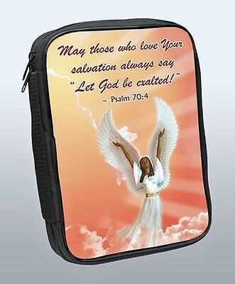 Psalm 70:4 Let God Be Exalted Bible Cover African American NEW (81409)