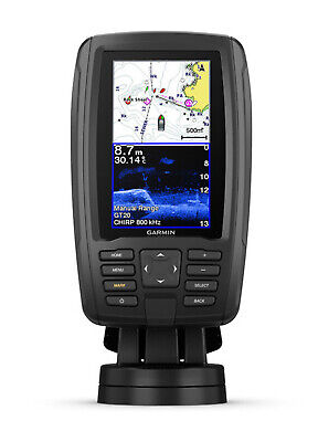 GARMIN ECHOMAP Plus 45cv FISHFINDER CHARTPLOTTER With MAPS & CHIRP Transducer