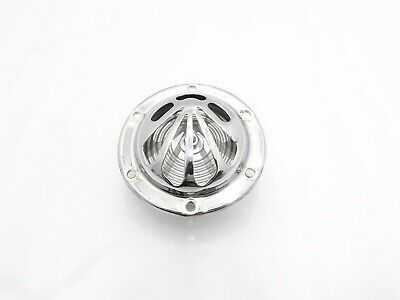 New Vespa Chromed Flower Shell Horn 12V V50, Pv, 50N Vbb, Vlb, Vnb  #vp514