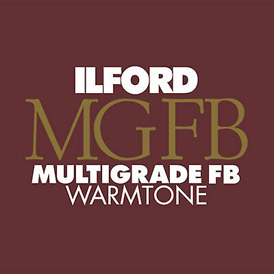"New Ilford MGIV FB Warmtone 11x14"" Glossy Darkroom Monochrome Paper 50 Sheets"