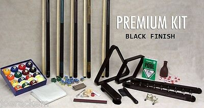 Premium Pool Table Accessory Kit - Beautiful - Lifetime Warranty