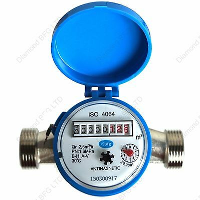 Water Meter for Industrial home or garden BIG FLOW 2.5m3/h  COLD WATER