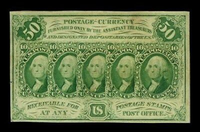 1862 - 1863 Fifty Cents Fractional Currency First Issue  Note Fr #1312