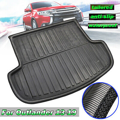 Rear Trunk Tray Boot Liner Cargo Floor Mat For Mitsubishi Outlander 2013-2019