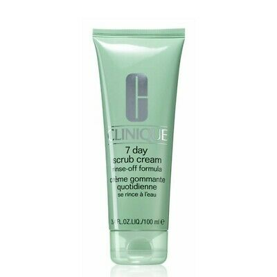 CLINIQUE 7 day scrub cream rinse-off formula esfoliante 100 ml