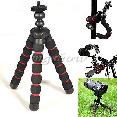 Universal Flexible Mini Tripod Stand Mount Holder For GoPro Hero 2 3 3+ 4 Camera
