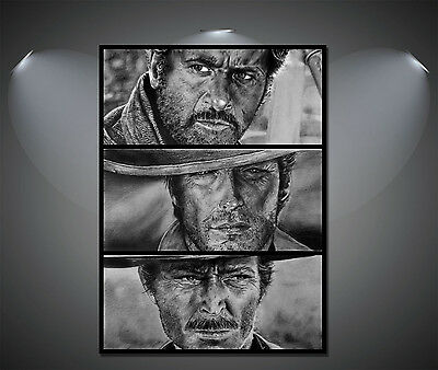 The Good The Bad and The Ugly Clint Eastwood Poster - A1, A2, A3, A4 available