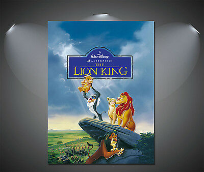 The Lion King Vintage Movie Poster - A1, A2, A3, A4 available