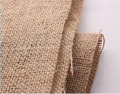 HESSIAN 100% JUTE 10oz Fabric Sacking Burlap Material -150cm wide - Natural
