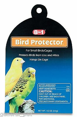 8 in 1 Mite & Lice Cage Protector for Small Cages 0.5oz