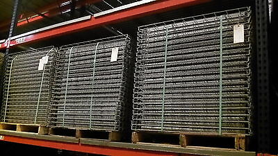 """42"""" D x 46"""" W Wire Mesh Deck for Pallet Rack; 37 5/8"""" Channel"""