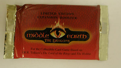 Middle Earth CCG The Dragons 1 Booster Pack Lord of the Rings - Herr der Ringe